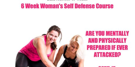 6 Week Women's Self-Defense Course tickets