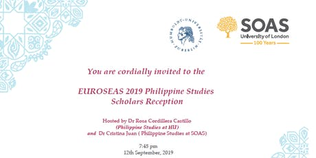 Philippine Studies Scholars Reception tickets