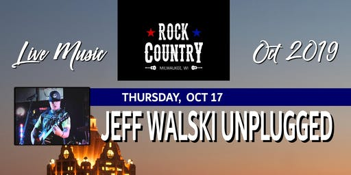 Jeff Walski Unplugged at Rock Country!