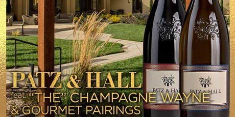 Patz & Hall Single Single Vineyard Tasting led by Champagne Wayne tickets