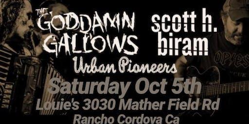 Poor Boys Halloween Party w The Goddamn Gallows & Scott H Biram