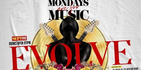 Mondays Are For Music - Sept Edition tickets