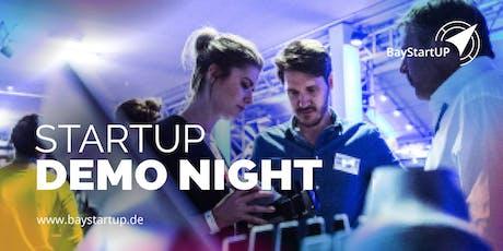 Fahrt zur Nürnberger Startup Demo Night Oktober 2019 Tickets