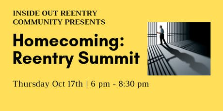 Homecoming: Reentry Summit Kickoff and Voting Rights Panel  tickets