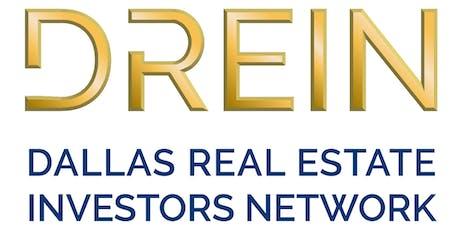 Dallas Real Estate Investors Network TRAINING MEETING - PLANO, TX tickets