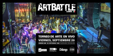 Art Battle Ciudad de México - 20 de septiembre, 2019 boletos