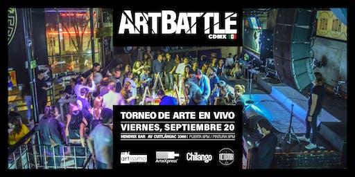 Art Battle Ciudad de México - 20 de septiembre, 2019
