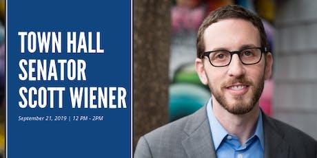 Senator Scott Wiener Town Hall tickets