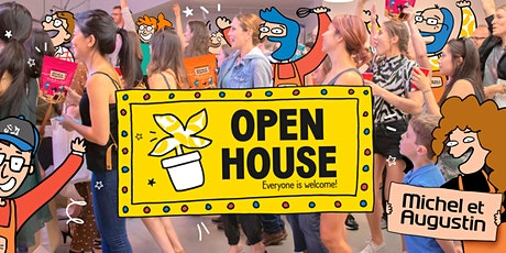 Open House at Michel et Augustin  tickets