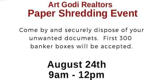 Free Paper Shredding