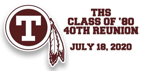 THS Class of '80 40th Reunion tickets