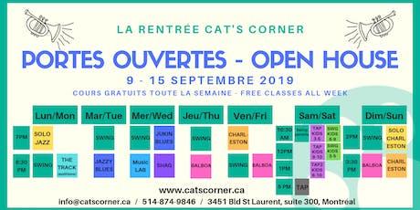 Portes Ouvertes - Cat's Corner - Open House billets