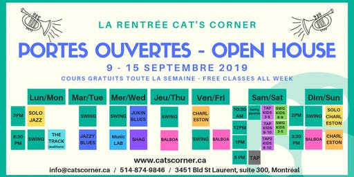 Portes Ouvertes - Cat's Corner - Open House