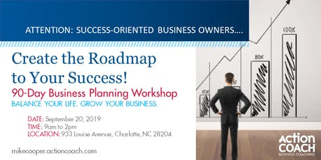 GrowthCLUB.... Create Your 90 Day Roadmap for Success tickets