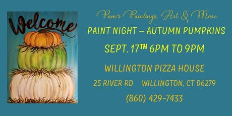 Paint Night - Autumn Pumpkins tickets