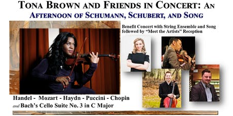 Tona Brown and Friends in Concert: An Afternoon of Schumann, Schubert, and Song tickets