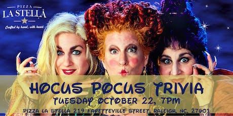 Hocus Pocus Trivia at Pizza La Stella Raleigh tickets