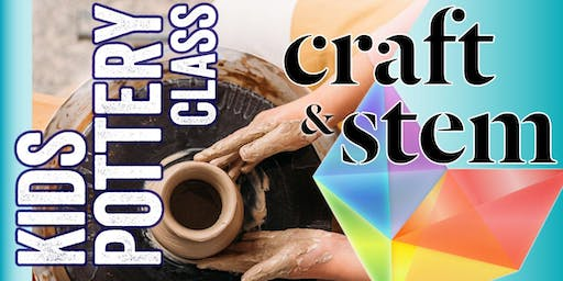 Kids Pottery Class - Tuesday Afternoon - 4:30 pm to 6:30 pm