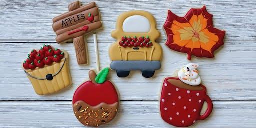 Apple Harvest Cookie Decorating Class