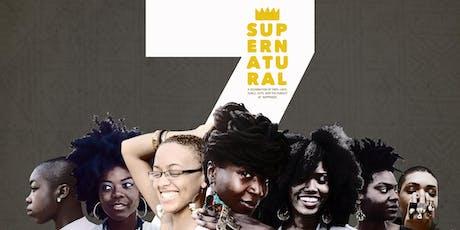 SUPERNATURAL || 7 Year Nappiversary tickets