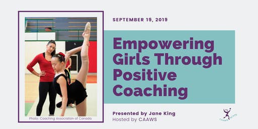 Empowering Girls Through Positive Coaching Webinar