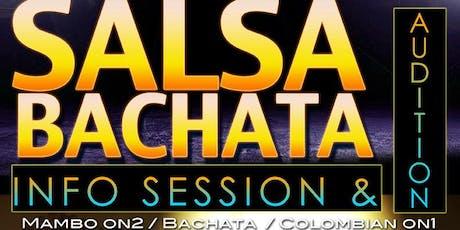 SALSA & BACHATA TEAM Audition  tickets