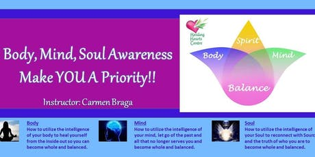 Find Balance In Your Life: Body, Mind & Soul tickets