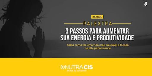 [BELO HORIZONTE/MG] 3 passos para aumentar sua energia e produtividade - 27 de Agosto