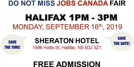 Free: Halifax Job Fair – September 16th, 2019 tickets