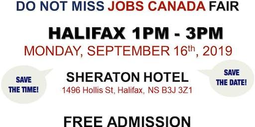 Free: Halifax Job Fair – September 16th, 2019