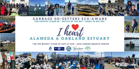 I Heart Alameda & Oakland Estuary On-the-Water Cleanup! Register HERE!  tickets