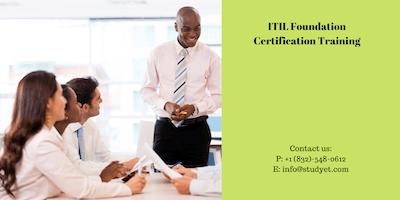 ITIL foundation Classroom Training in Cheyenne, WY