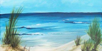 Life's a Beach Brush Party - Farnham