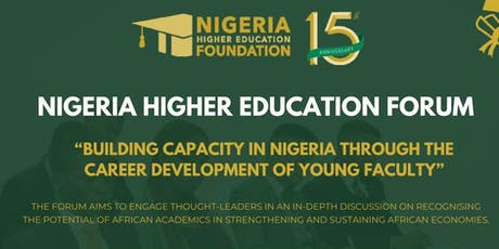 Nigeria Higher Education Forum tickets