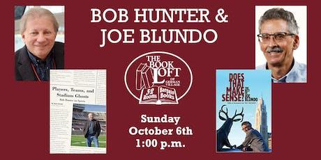 Conversation with Bob Hunter and Joe Blundo tickets
