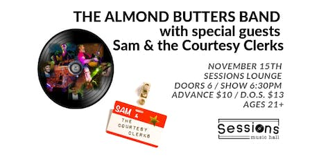 The Almond Butters Band tickets