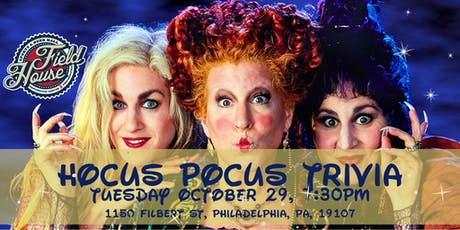 Hocus Pocus Trivia at The Field House tickets