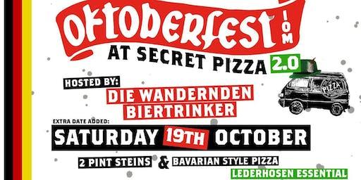 Oktoberfest v2.0 @ Secret Pizza
