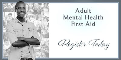 ***** Mental Health First Aid September 24, 2020