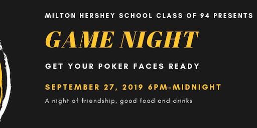 MILTON HERSHEY SCHOOL CLASS OF 1994 CLASS REUNION GAME NIGHT