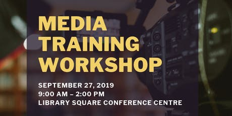 Media Engagement Training Workshop with Shari Graydon (Informed Opinions) tickets