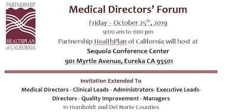 Medical Directors' Forum tickets