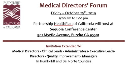 Medical Directors' Forum
