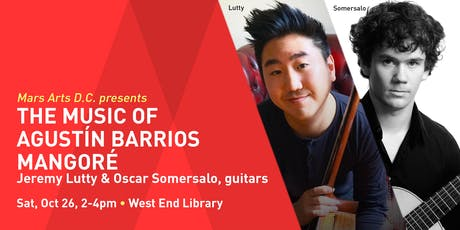 The Music of Agustín Barrios Mangoré tickets