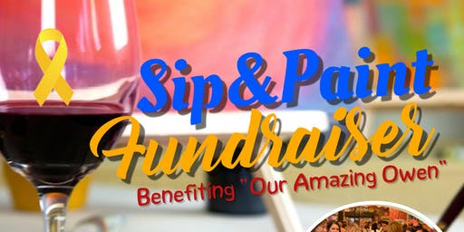 Sip and Paint Fundraiser