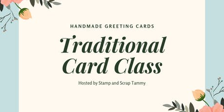 October Traditional Card Class  tickets