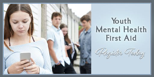 Youth Mental Health First Aid October 15, 2020