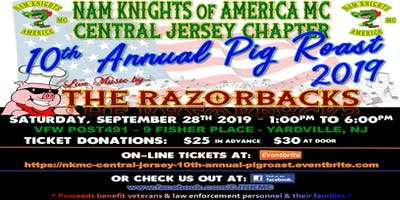 Nam Knights - Central Jersey Chapter - 10th Annual Pig Roast