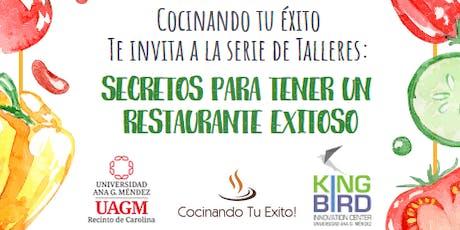 Secretos Para Tener Un Restaurante Exitoso tickets