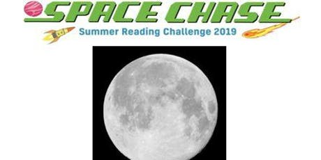 Space Chase - Moon craft with kitchen foil tickets